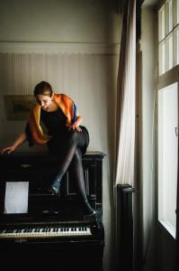 Kadri-Ann klaveri otsas