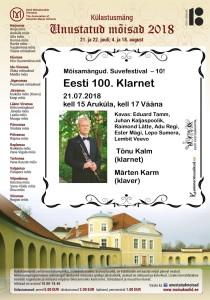 MM 3 Eesti 100. Klarnet 1