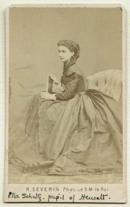 by Robert Severin, albumen carte-de-visite, circa 1864